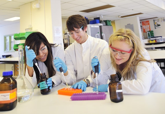Cardiff undergraduates acquire a high level of laboratory skills