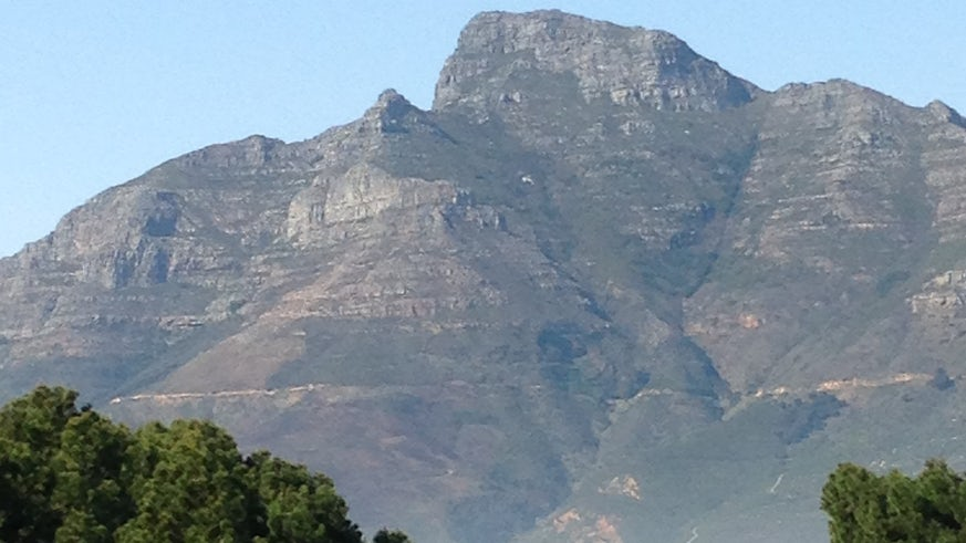 View of Table Mountain, Cape Town South Africa