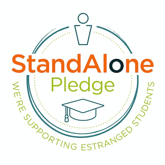 The Stand Alone Pledge logo