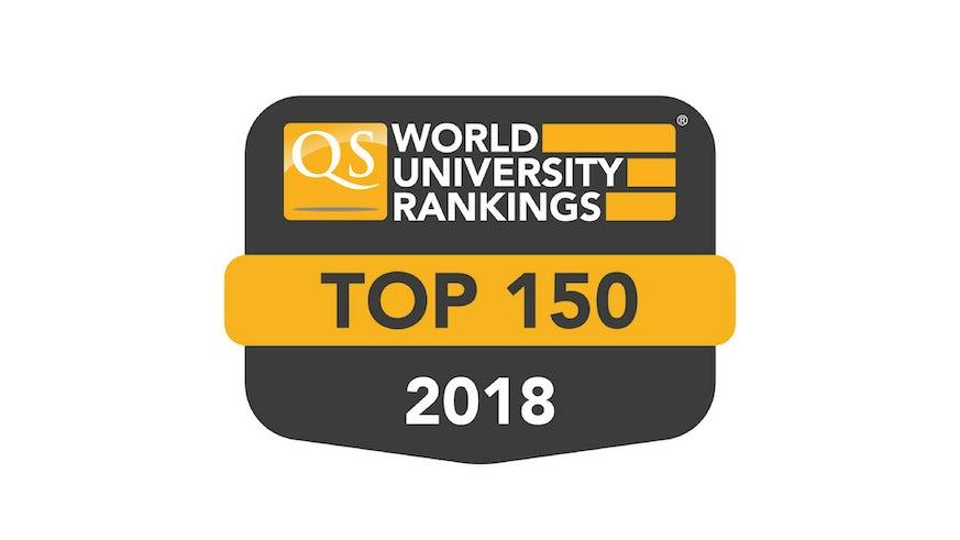 QS WUR Badge - Top 150