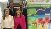 Houston and Blaxland at BBSRC Competition