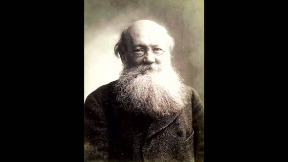 Peter Kropotkin; a Russian activist, scientist, and philosopher, who advocated anarchism.
