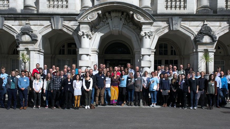 Attendees of the first UK Paleoclimate Society conference