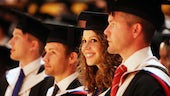 Graduates in St David's Hall
