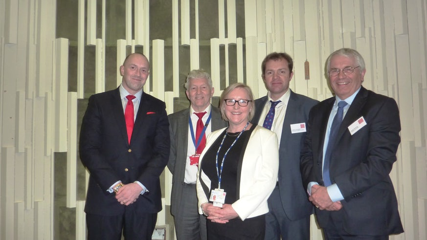 Speakers at Clinical Innovation event
