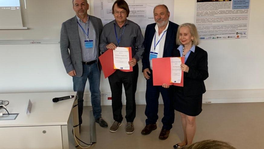 Professor Zhigljavsky awarded the Constantin Caratheodory Prize in France.
