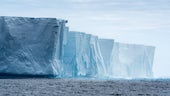 Stock image of Antarctic icebergs