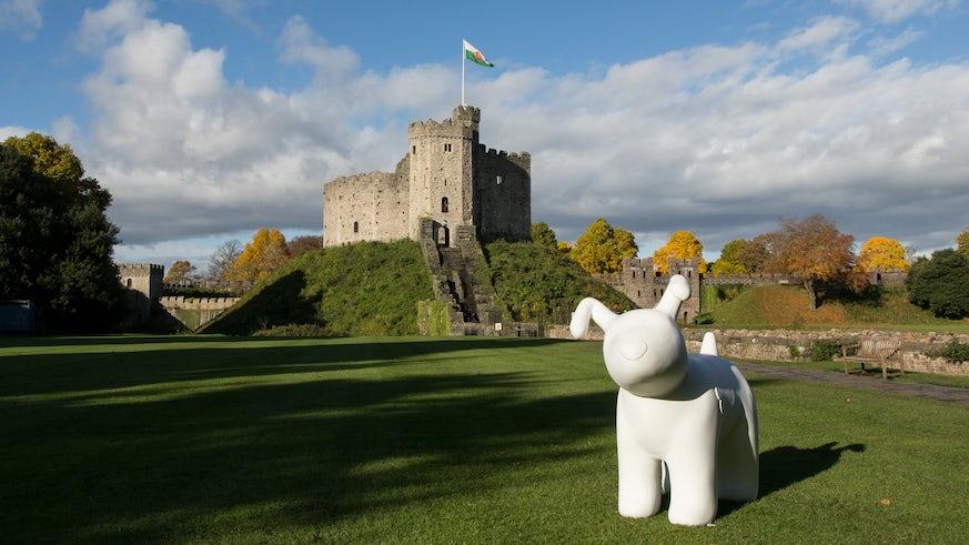 Ty Hafan Snow Dog - Cardiff Castle