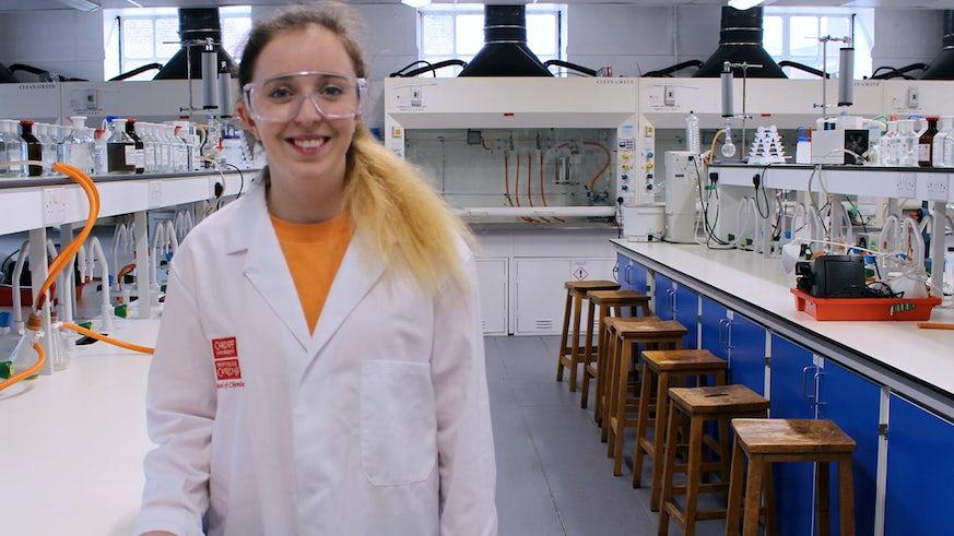 MChem Chemistry Student Jessica Powell