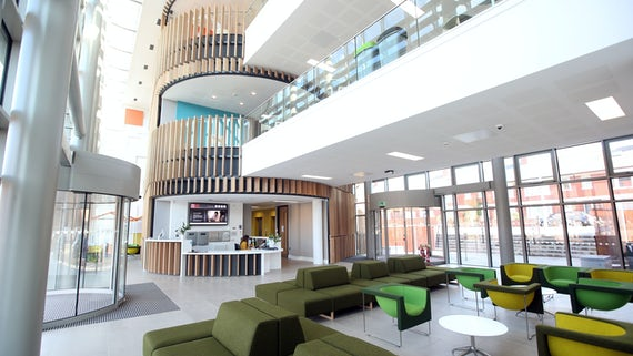 House Foyer University : Cubric wins major award news cardiff university