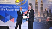 Professor Roger Falconer receives award for his contribution to Hydro-Environmental Engineering