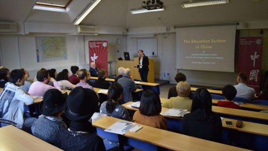 Professor W. John Morgan and Professor Qing Gu to introduce their new book, the Handbook of Education in China