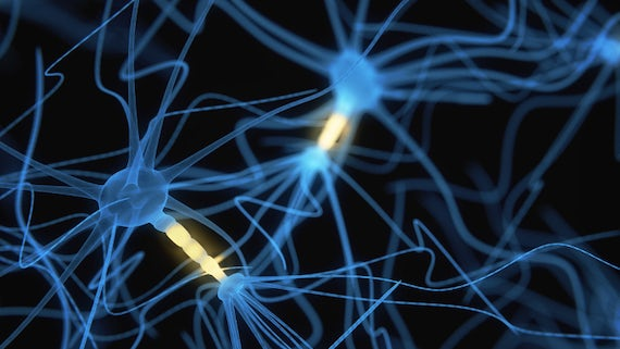 Neural cells graphic