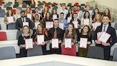 Undergraduate prize winners