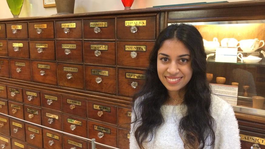 Portrait image of Amisha