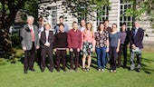 Group photo of most of the speakers from the 14th Cardiff Chemistry Conference.