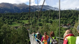 Environmental Geography students on fieldwork in Switzerland