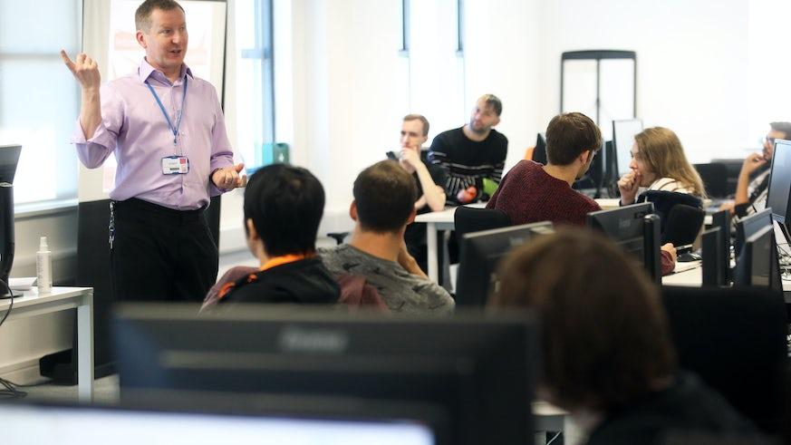 National Software Academy Class