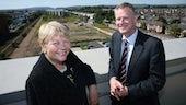 wales officer minister visit