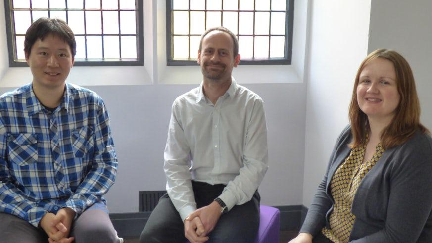 Image of Dr J Millington, Dr N Owen and Dr Z Li