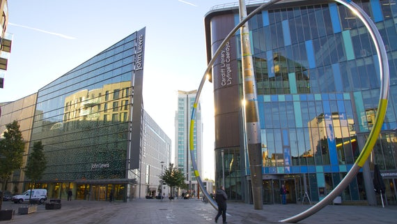 John Lewis and Cardiff Central Library