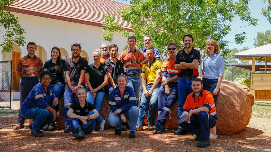 Mount Isa Mines workshop