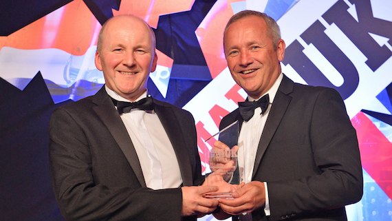 Wyn Meredith and Rob Harper, CSC, Insider Made in the UK Awards