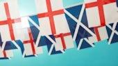 English voters want hard line on Scotland