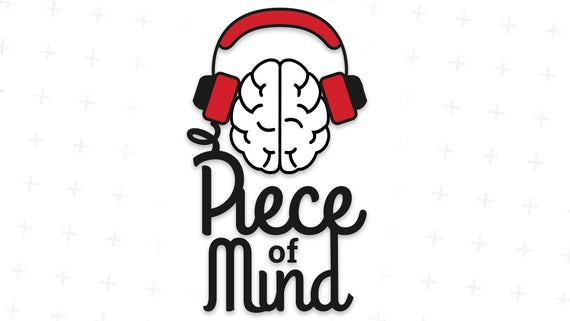 Piece of Mind podcast logo