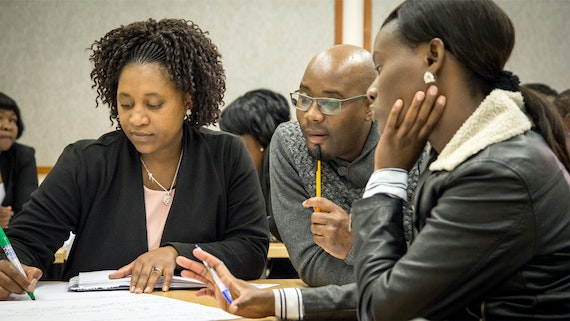 Sharing expertise in study skills with University of Namibia
