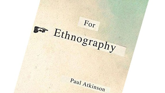 For Ethnography book cover
