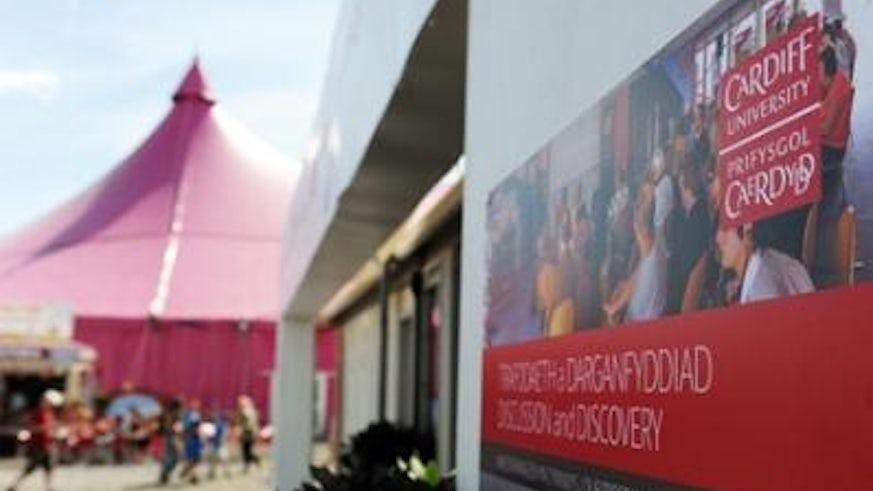 University's big impact at Eisteddfod