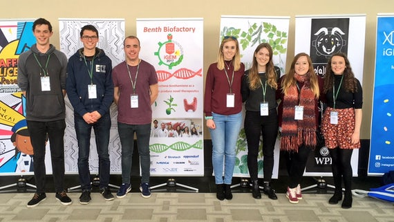 biosciences and chemsitry students in boston 2017