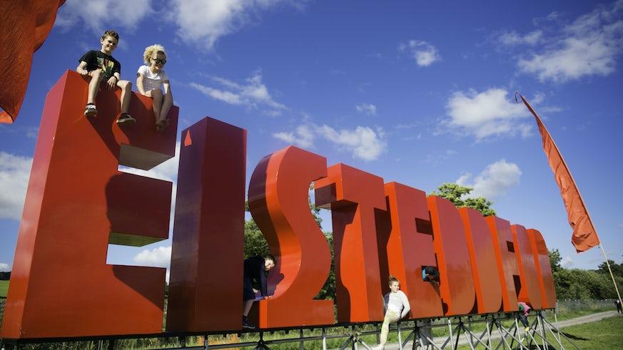 Eisteddfod sign