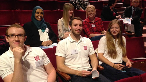Student presenters at the HCARE UG conference