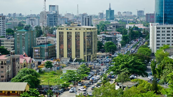 City in Nigeria