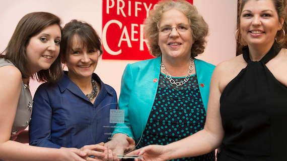 Centre for Community Journalism wins Cardiff University award for 'Outstanding Contribution for the Community'