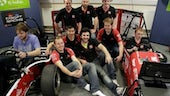 Formula Student unveil car