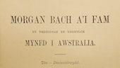 Morgan bach a'i fam yn ymddyddan ynghylch myned i Australia (n.d.)