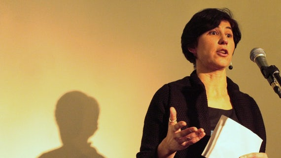 Image of Dr Sofia Gameiro delivering her remarks