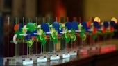 Innovation awards on table