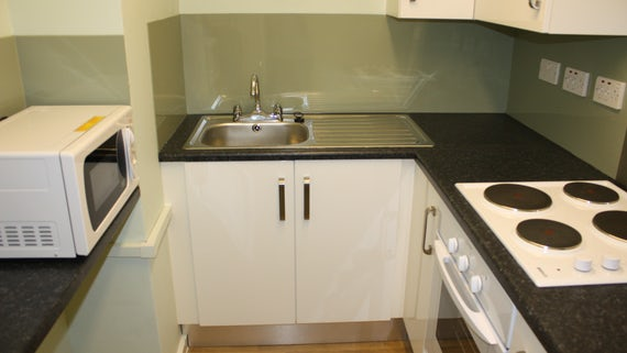 Kitchen in University Hall 1 Bed Flat