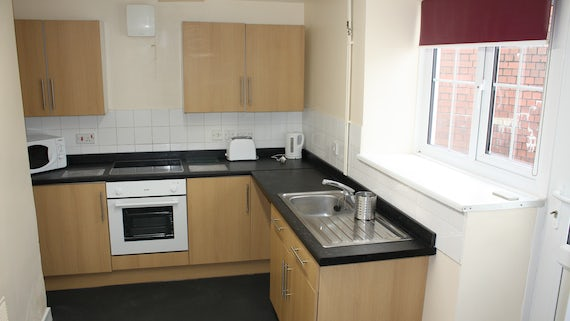 Kitchen in Talybont Court 3 Bed House
