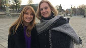 Jane Seymour with Professor Hanna Diamond