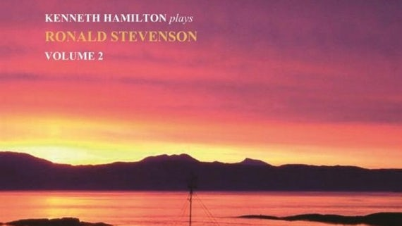 Album cover of Ken Hamilton Plays Ronald Stevenson Volume 2