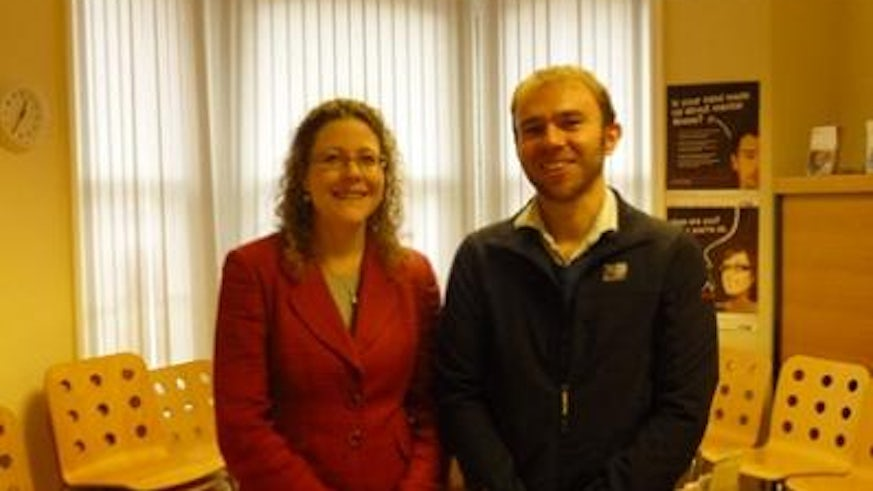 Adam Glen and Jenny Willmott MP