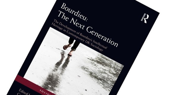 Front cover of new Bourdieu book