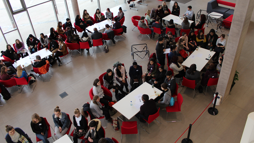 Photograph of students at the MRC CNGG Winter School 2016