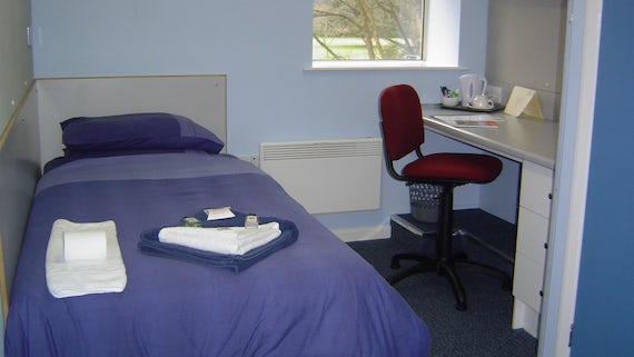 Colum Hall bedroom
