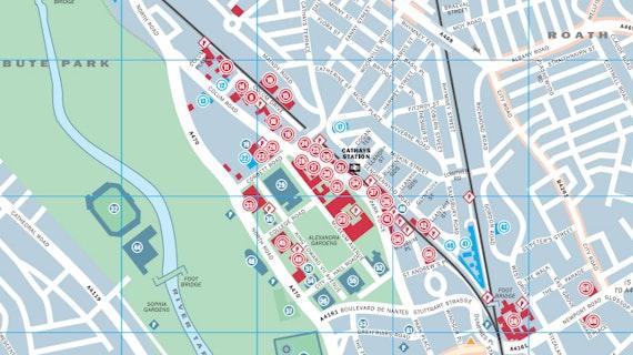 Cardiff University Map Location Guide 2017 Cardiff University Map